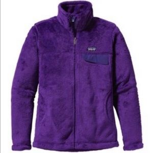 Patagonia | Purple Fleece Zipper Jacket M